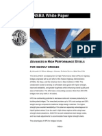 Advances in High Performance Steels for Highway Bridges