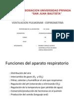 Fisiologia Humana-Volumenes y Cavidades ,Espirometria