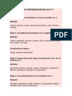 Reglas Ortograficas de La b y v (1)