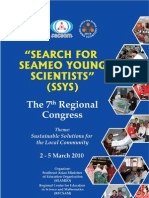 Search for Seameo Young Scientists (Ssys)