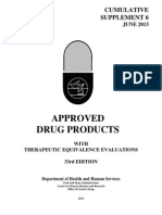 Aproved Drug Products Suplements 2013