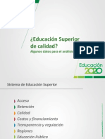 Datos Educacion Superior