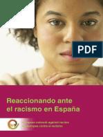 Reaccionando Ante El Racismo en España