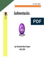 TA06-Sedimentación