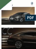 Ficha Técnica Volkswagen CC
