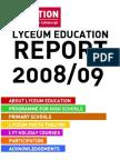 Lyceum Education Report 0809