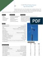 1 5kW raum energy System Specs 2009