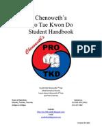 Student Handbook v5-2011 CDK-TKD
