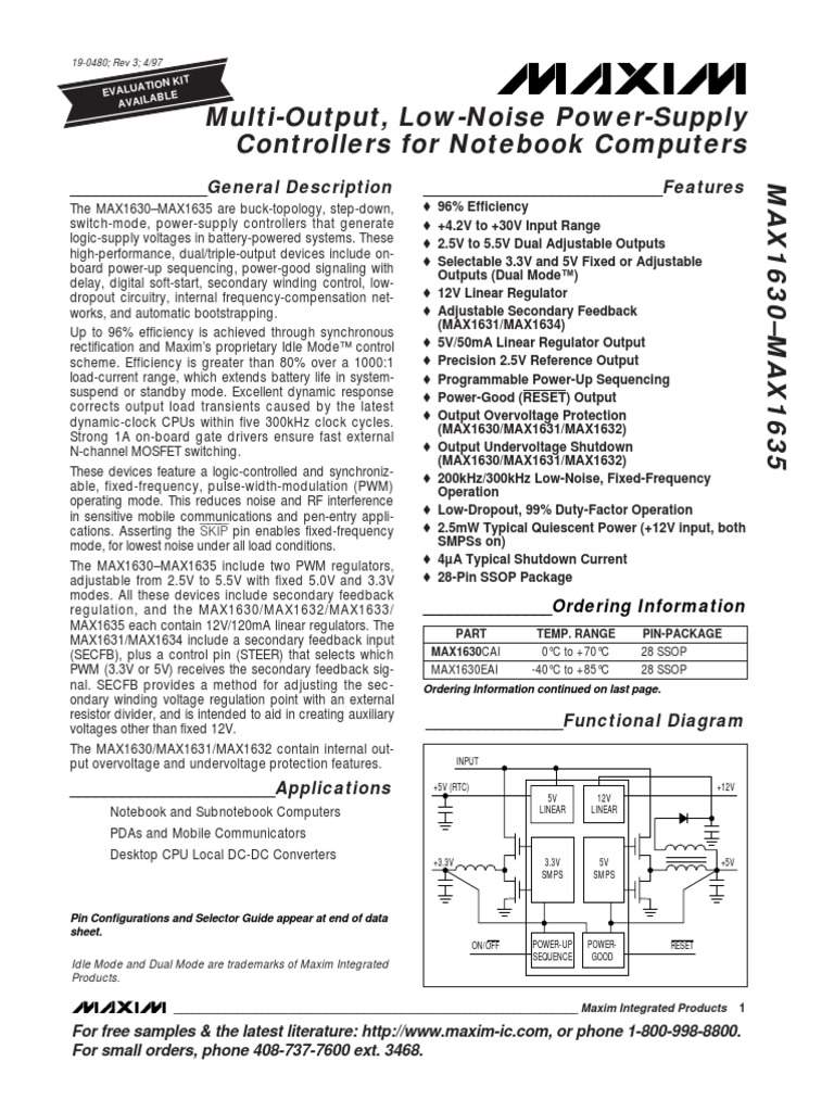 Data Sheet Power Supply Rectifier Multi Output Circuit Design Using Uc3844