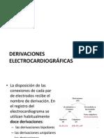 derivaciones electrocardiograficas