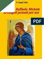 Gabriele Raffaele Michele Arcangeli Potenti Per Noi P Angel Pena OAR
