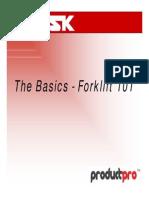 Basics of Forklift