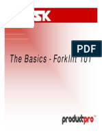 Basics of Forklift