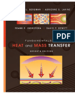 Fundamentals of heat and mass transfer (preview)