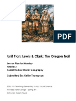 Mapping the Oregon Trail-Monday's Lesson