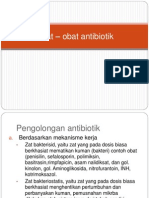 Obat – obat antibiotik