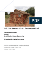 Claiming Land out West-Friday's Lesson
