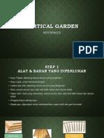 Vertical Garden (Taman Vertikal)