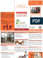Physiotherapy Brochure (English)