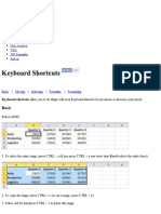 1 Excel Keyboard Shortcuts - Easy Excel Tutorial