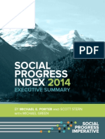 Social Progress Index 2014 Executive Summary