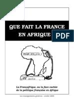 Que fait la France en Afrique ?