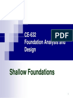 CE 632 Shallow Foundations Part-1 PPT[1]