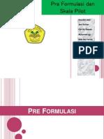 PreFormulasi Dan Skala Pilot 2003