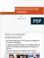 Brand Ambassadors and Brands