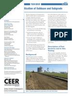 Cement Subbase Tech Brief