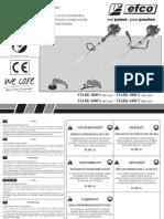 Manual de Utilizare Motocoasa Stark3800 4400 4 a e2