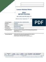 LHN Meter Proving 25241-01