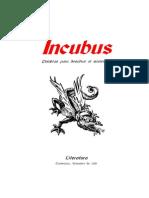 Revista de poesia Incubus