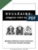 Nucléaire - Jusqu'ici tout va bien
