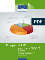 Bugetul Ue 2013