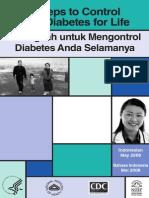 4 Langkah Untuk Mengontrol Diabetes Anda Selamanya