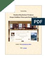 Tutorial Membuat Blog Berbasis Wordpress Dengan Modifikasi Evyta a r