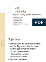 Topic 2 - Airy Stress Function