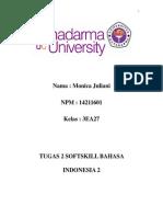 Tugas 2 Bahasa Indonesia - METODE ILMIAH