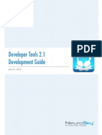 Developer Tools 2.1 Development Guide