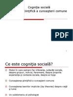 Cognitia sociala