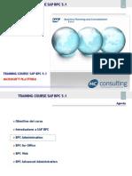 Corso SAP BPC 5 Mod02 Admin v4r0