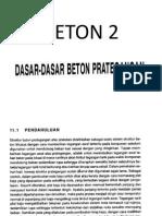 BETON 2 Prategang 1