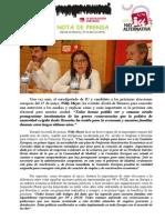 Willy Meyer Reiteró en Alcalá La Importancia Que Tiene Para IU La Declaración Del Corredor Como Zona de Preferente Reindustrialización