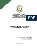 Tesis Doctoral La Codificacion Penal