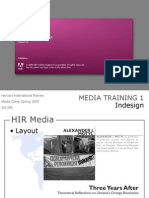 Media Training 1