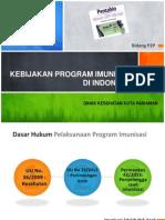 1. Kebijakan Program Imunisasi Di Indonesia