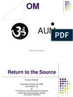Return to the Source 1 Ppt PDF