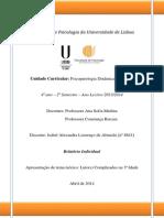 Relatório Individual Teórico - Psicopatologia Do Adulto