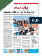 Día de la libertad de prensa.La Voz de la Escuela.30.4.2014